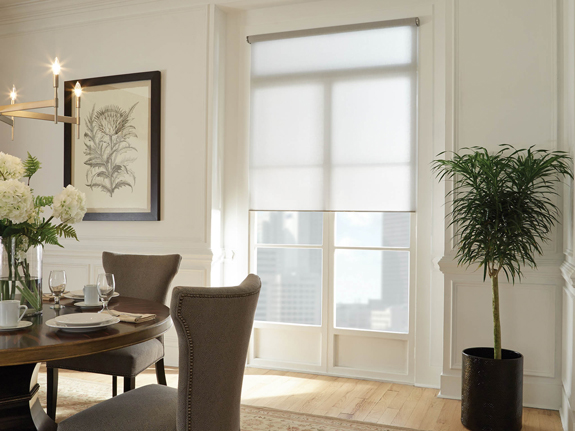 large sheer roller shades