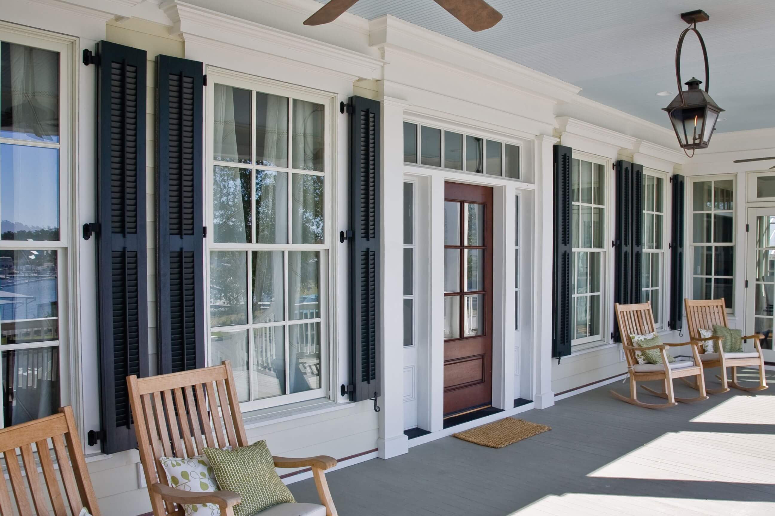 SOLID WOOD EXTERIOR SHUTTERS