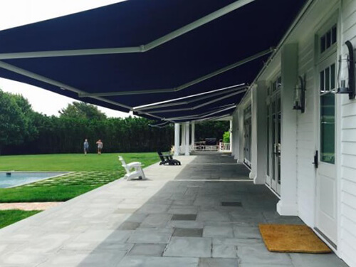 Motorized Retractable Awnings Houston - Sunesta Awnings ...